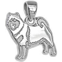 Alaskan Malamute Sterling Silver Charm