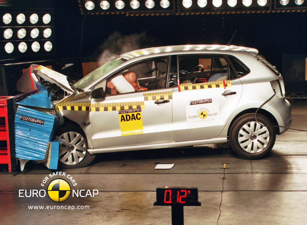 Top safety ratings for VW Polo, Lexus CT200h and Lexus IS
