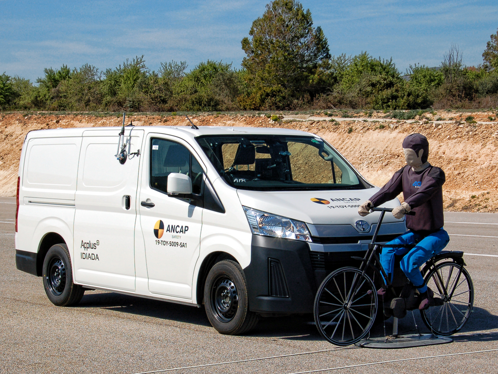 Safety prioritised with 5 stars for Toyota HiAce and Nissan Leaf EV, yet the opposite for Jeep Wrangler at 1 star.