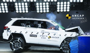 Jeep Grand Cherokee | 5 Star ANCAP Safety Rating