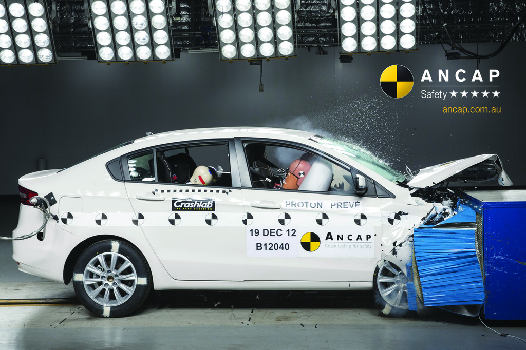A first for Proton; Prevé achieves 5 star ANCAP safety rating