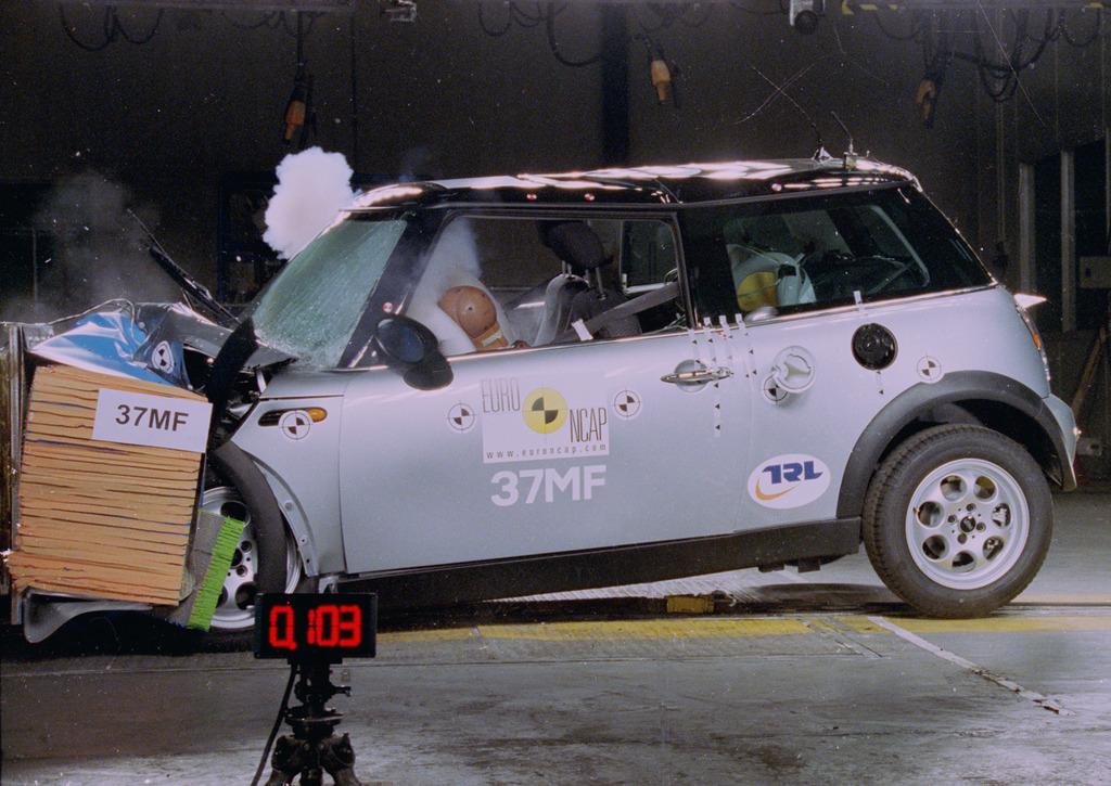 mini cooper jul 2002 � jun 2006 crash test results ancap