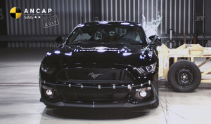 Ford Mustang | 2 Star ANCAP Safety Rating