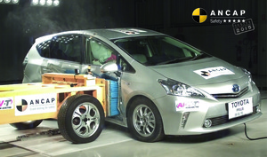 Toyota Prius V | 5 Star ANCAP Safety Rating