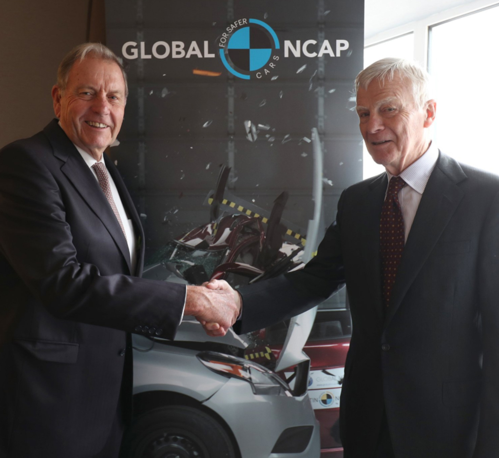 Australasian road safety champion appointed Chairman of Global New Car Assessment Programme.