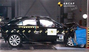Lexus IS | 5 Star ANCAP Safety Rating