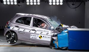 Nissan Micra | 4 Star ANCAP Safety Rating