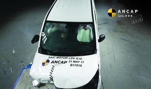 LDV G10 | 3 Star ANCAP Safety Rating
