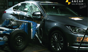 Hyundai Genesis | 5 Star ANCAP Safety Rating