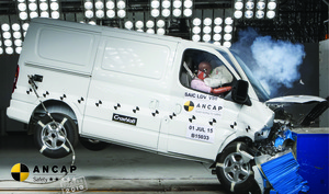 LDV V80 | 2 Star ANCAP Safety Rating