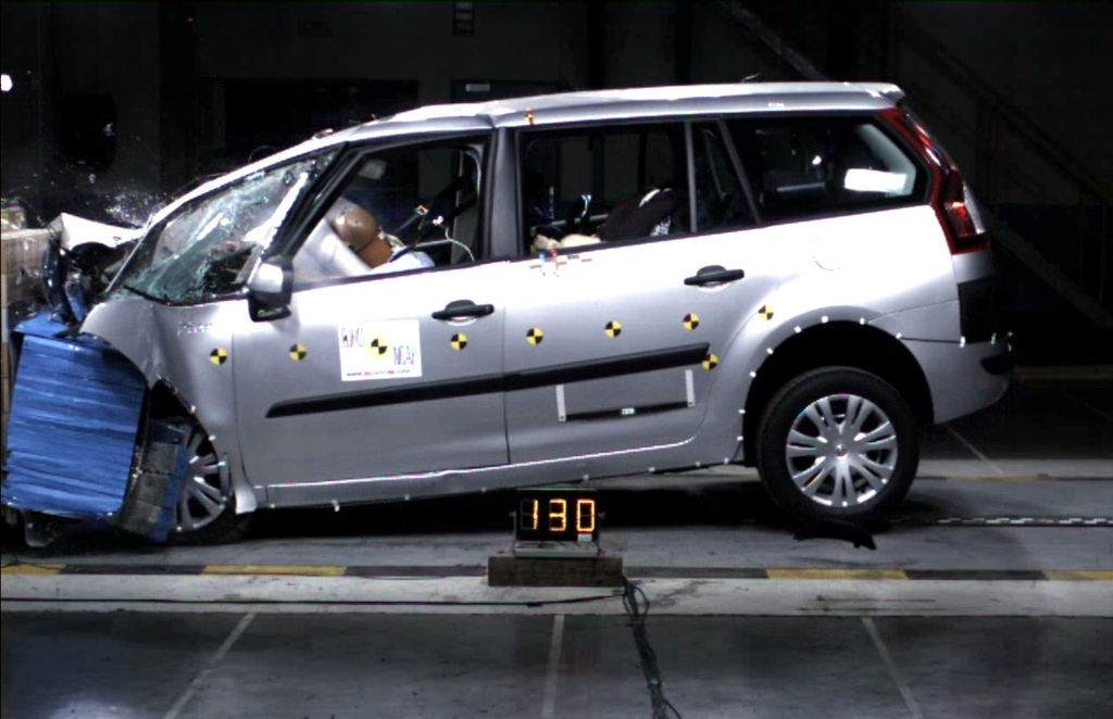 citroen c4 grand picasso 2007 feb 2014 crash test results ancap. Black Bedroom Furniture Sets. Home Design Ideas