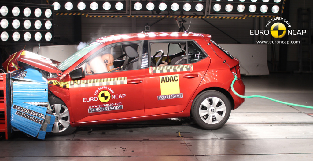 Skoda sets a standard for Autonomous Emergency Braking across all new Fabia