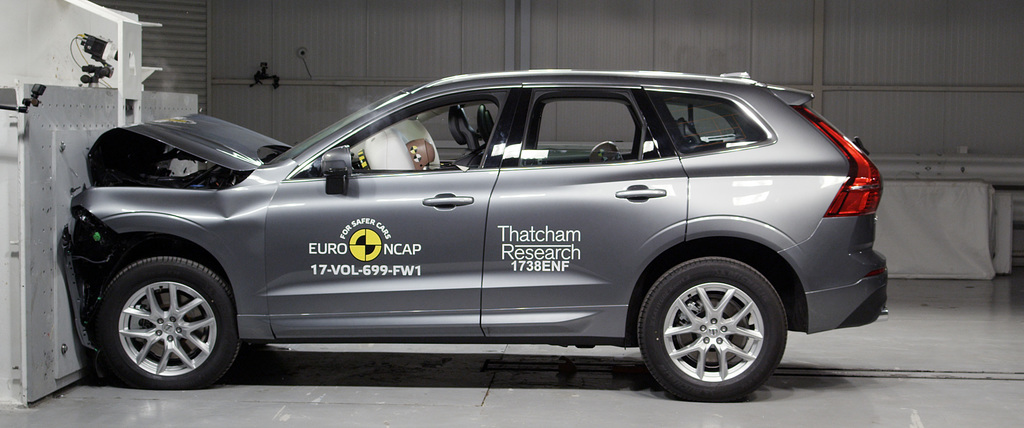 Top safety scores awarded to Volvo XC60.