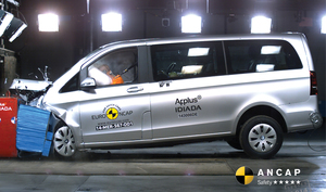 Mercedes-Benz Valente | 5 Star ANCAP Safety Rating