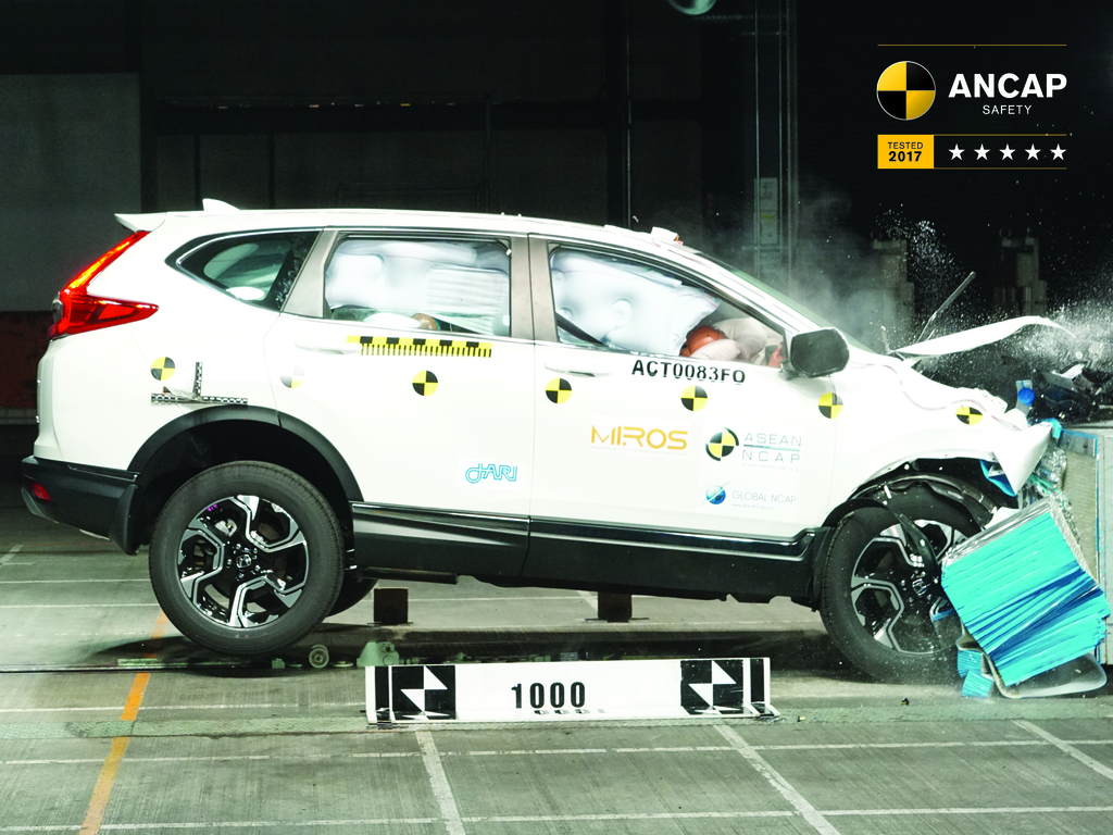 honda cr v jul 2017 onwards crash test results ancap