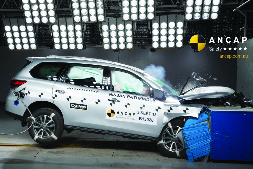 Nissan scores a safety double  ANCAP