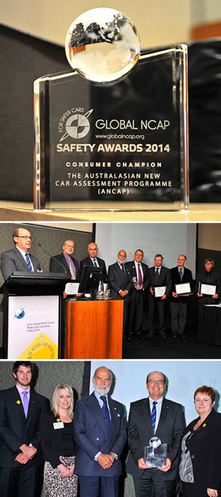Vehicle safety program recognised by HRH Prince Michael of Kent