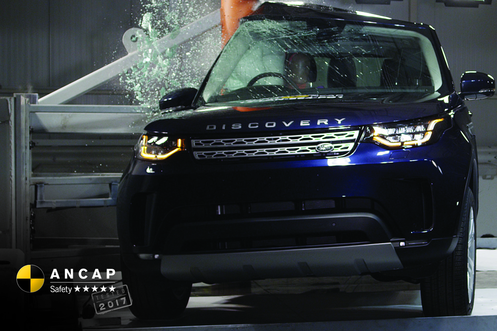Land Rover Discovery enters the local market with 5 star safety.