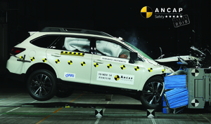 Subaru Liberty / Legacy | 5 Star ANCAP Safety Rating