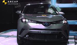 Toyota C-HR | 5 Star ANCAP Safety Rating