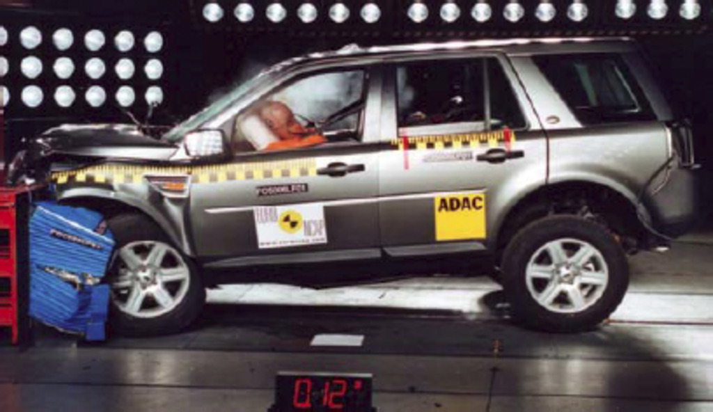 land rover freelander 2 mar 2007 2015 crash test. Black Bedroom Furniture Sets. Home Design Ideas