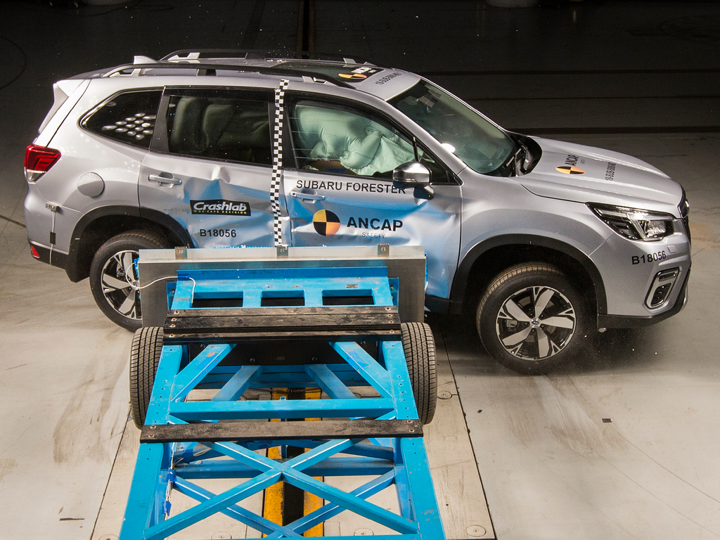Safety pedigree of the Subaru Forester continues with 5 stars.