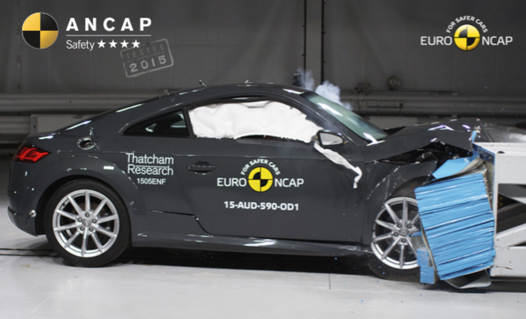 Mazda2 and Mazda CX-3 reach 5 stars, Audi TT falls short with 4