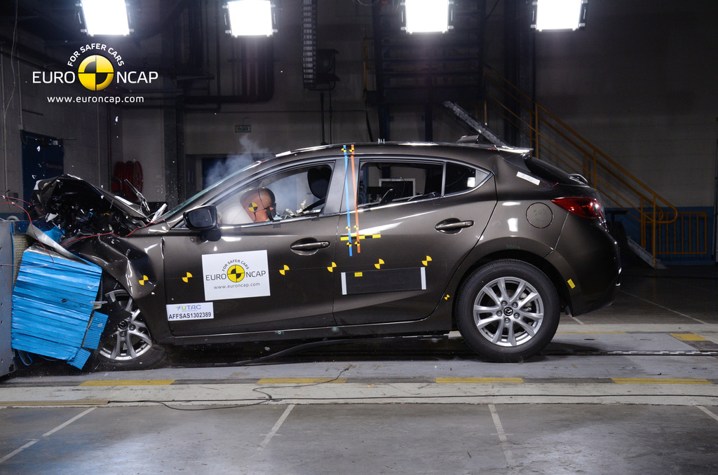 Mazda 3 scores 5 stars: advanced safety still optional