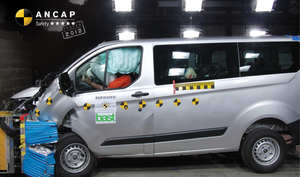 Ford Transit Custom | 5 Star ANCAP Safety Rating