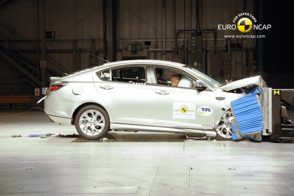 4 star safety rating for MG6. Top safety ratings for Holden Trax, Peugeot 208 & Citroen DS5