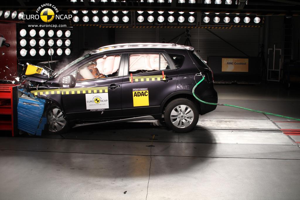Suzuki Sx Safety Ratings