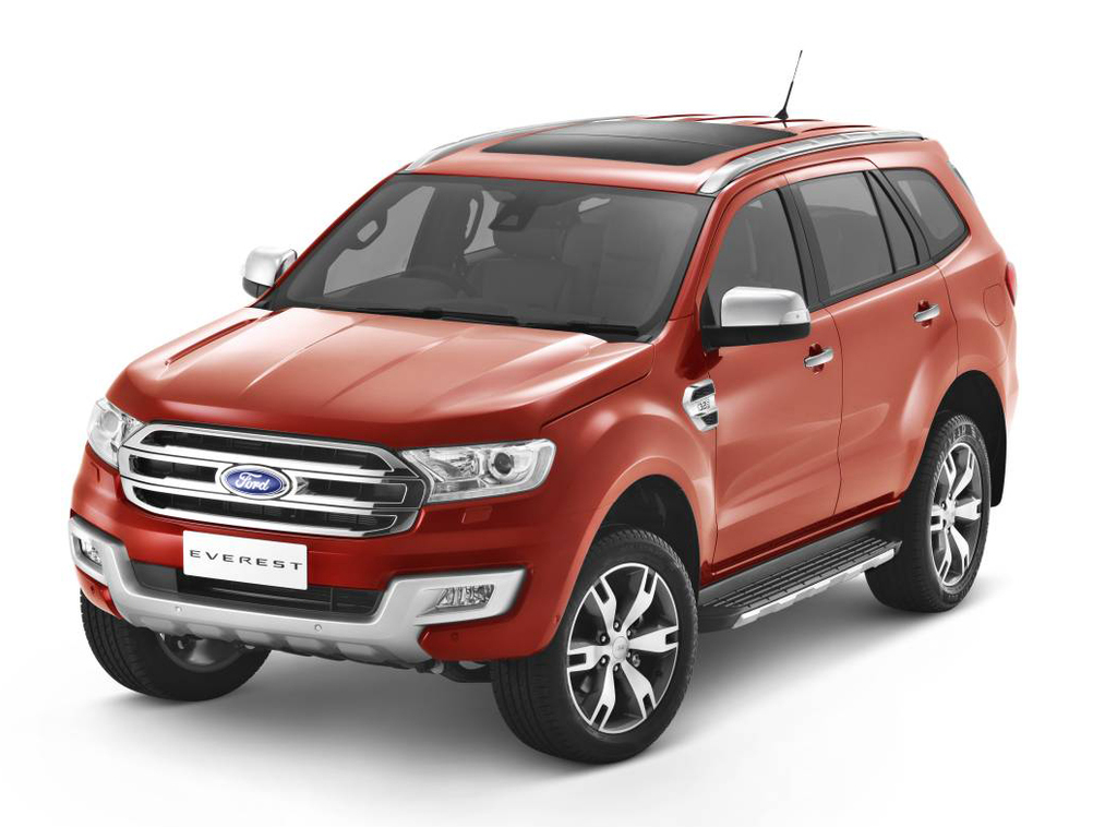 Ford Everest | 5 Star ANCAP Safety Rating