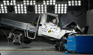 Toyota Landcruiser Cab Chassis | 3 Star ANCAP Safety Rating