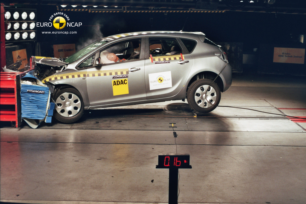 opel astra 2012 2014 crash test results ancap. Black Bedroom Furniture Sets. Home Design Ideas