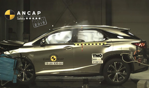 Lexus RX | 5 Star ANCAP Safety Rating