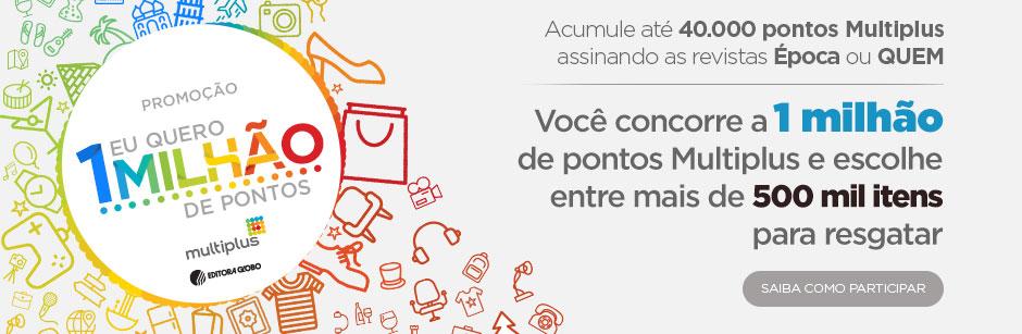 Acumule até 20.000 pontos Multiplus assinando as revistas da Editora Globo