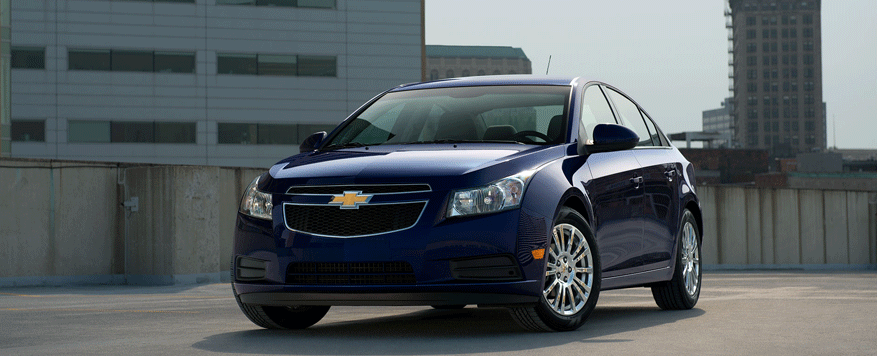 2014 Chevrolet Cruze Landing page Image