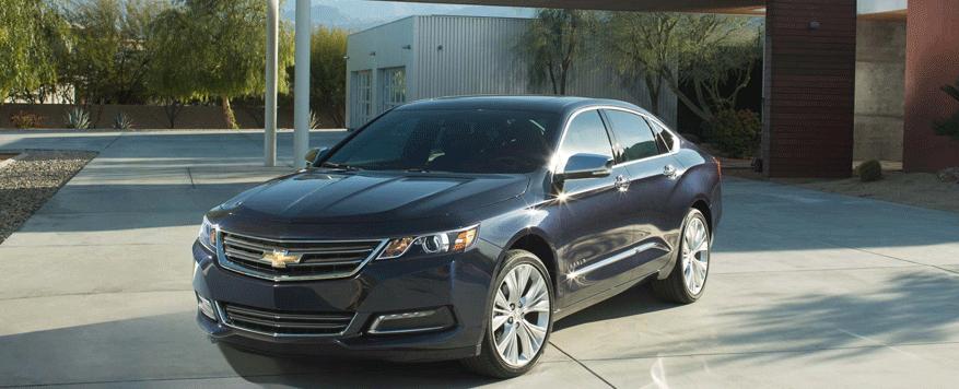 2014 Chevrolet Impala Landing page Image