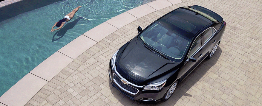 2014 Chevrolet Malibu Landing page Image