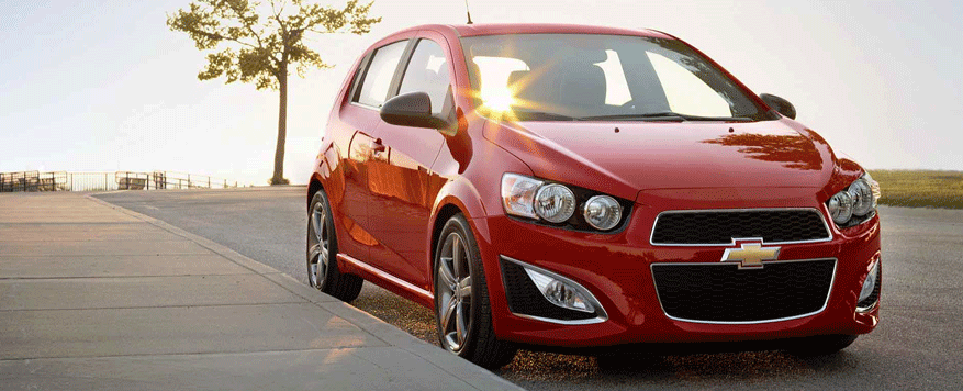 2014 Chevrolet Sonic Landing page Image