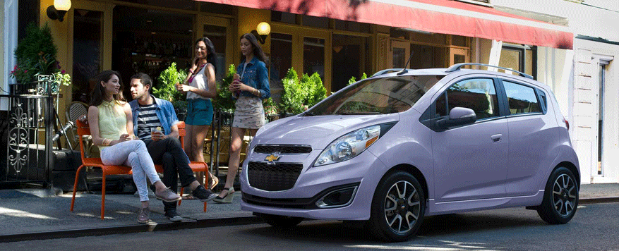 2014 Chevrolet Spark Landing page Image