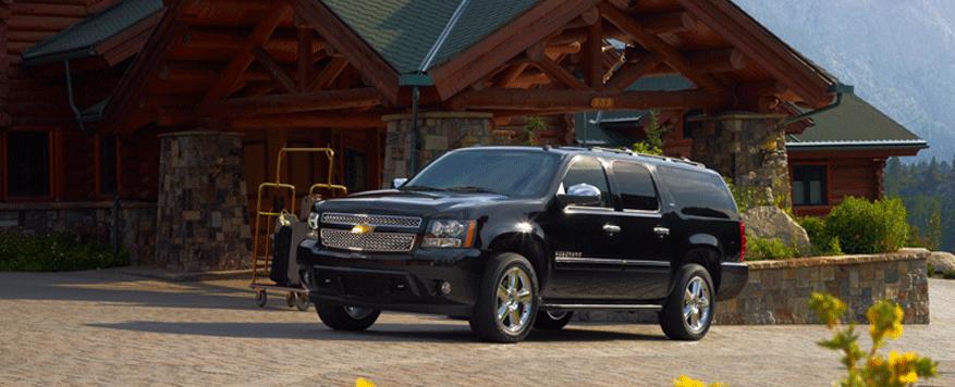 2014 Chevrolet Suburban Landing page Image