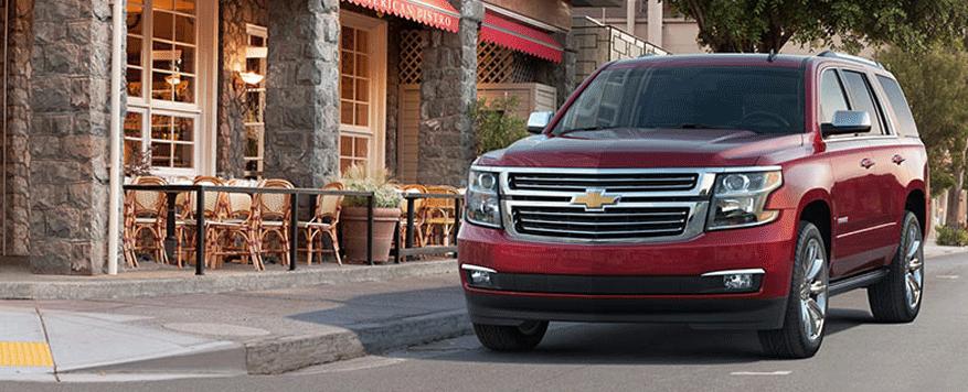 2014 Chevrolet Tahoe Landing page Image