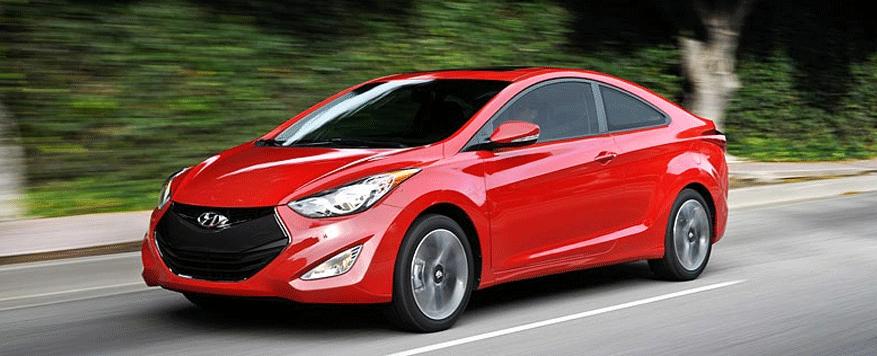 2014 Hyundai Elantra Coupe Landing page Image