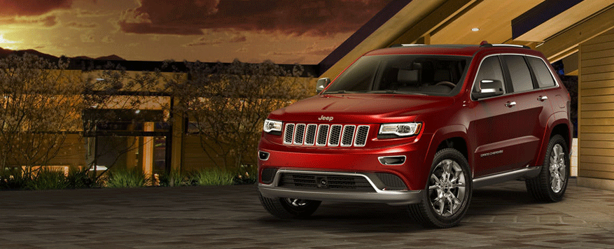 2014 Jeep Grand Cherokee Landing page Image