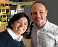Maha Mamo e Darcio Oliveira