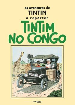 EmTintim no Congo, o jornalista e seu cão Milu desembarcam no antigo Congo...