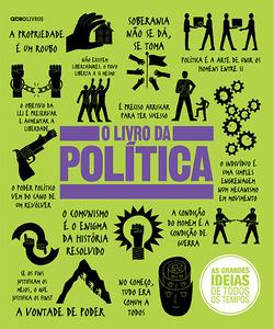 A Globo Livros lança formato reduzido de O livro da política, título da co...