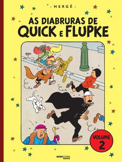 Chega ao público o volume 2 de As diabruras de Quick e Flupke, pelo selo Glo...
