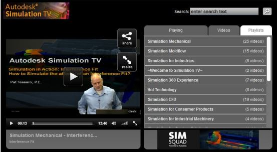Autodesk Simulation TV